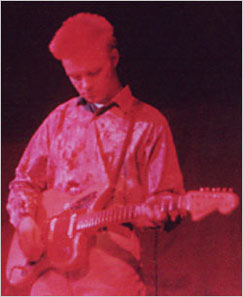 Lars Mertanen, guitarra
